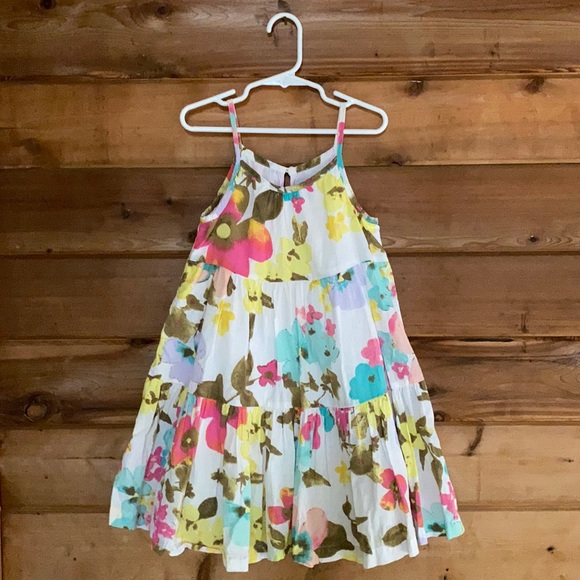 Old Navy Tiered Maxi Floral Dress (5T)